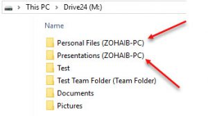 Folder Attachment